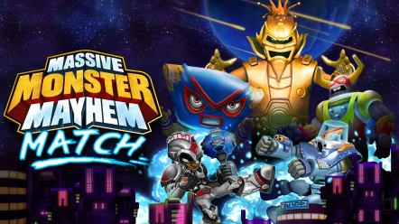 Massive Monster Mayhem Match - Download now and Save the Earth!