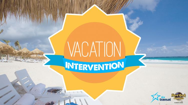 Vacation Intervention Contest. Enter for a chance to win a trip to Dominican Republic!